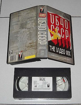 Vhs UB40 CCCP The Video Mix - PERFETTO 1987 Virgin