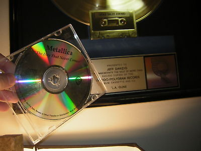 Metallica Promo Cd The Day That Never Comes Test Press