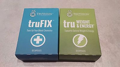 TruVision Health tru Weight & Energy and trufix 30 Day Supply GEN1 **LAST 5***