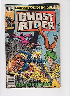 The New Ghost Rider #38 1979 Marvel Comic Books