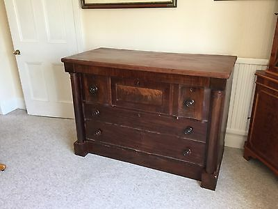 Victorian Three Over Two Chest Of Drawers