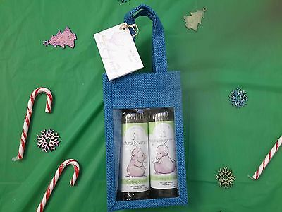 Humphreys corner baby xmas aloe vera organic shampoo and bubble bath gift bag