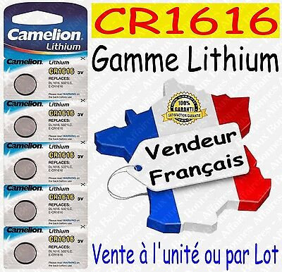 Piles/Battery Lithium 3V CR1616 CR2032 CR2025 CR2016 CR2430 CR2450 ( au choix )