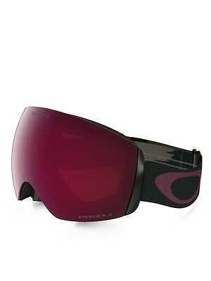 Maschera Snowboard Oakley Flight Deck Wet/dry Fired Brick W/prizm Rose