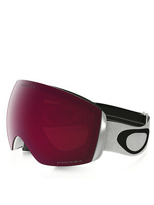 Maschera Snowboard Oakley Flight Deck Matte White W/prizm Rose
