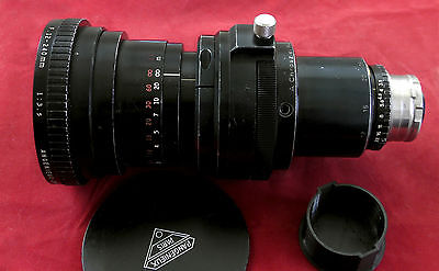 ANGENIEUX Zoom 12-240mm f3.5 ARRI bayo mount Arriflex w/ Chroziel Rings