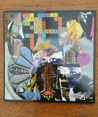 KLAXONS MYTHS OF THE NEAR FUTURE DOUBLE VINYL LP 1st Pressing 2007 Nr MINT-Rare