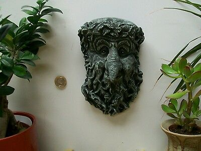 Treebeard Green wiccan pagan celtic man garden ornament  hanging plaque