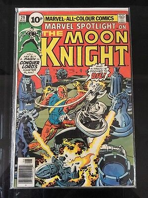 MARVEL SPOTLIGHT # 29 (MOON KNIGHT, AUG 1976), FN Jack Kirby