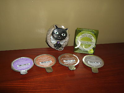 Bath And Body Works Scentportable Holder & 6 Refills