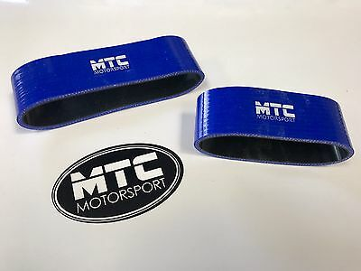Mtc Mini Cooper S R53 Intercooler Silicone Hoses Snoot Boots Top Mount Blue