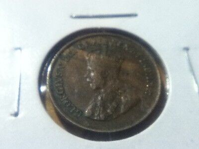 1920 Canadian One Cent