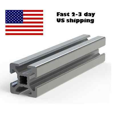 PDTech 2020 20mm T-slot Frame Aluminum Extrusion - Custom cut length - USA ship