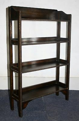 Good small bedroom bookcase book shelves. Arts and Crafts 1930s