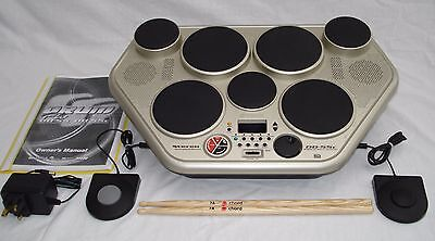 Yamaha Digital Electronic Drum Kit DD-55c Percussion & 2 pedals & instructions