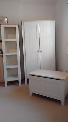 Mamas and Papas Wardrobe, Toy box & Shelf unit