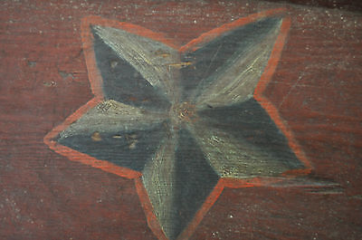 Antique 19Th Century Russian Painted Wooden Cradle