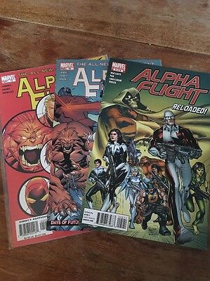 Marvel Alpha Flight Issue #10 #12 #Reloaded (5 Of 8) X3 Issues