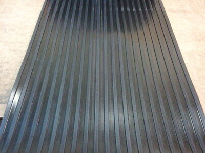 "Wide Rib Rubber Matting 48"" Wide"