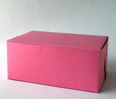 50 count PINK 7x5x3 Bakery or Cake Box