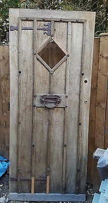 Reclaimed rustic solid oak door cottage door