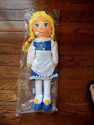 Mint Vintage Swiss Miss Hot Cocoa Chocolate Advertising Doll 1977 Nip