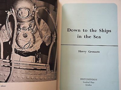 Hard Hat Diving Helmet Book Siebe Diver Grossett HB