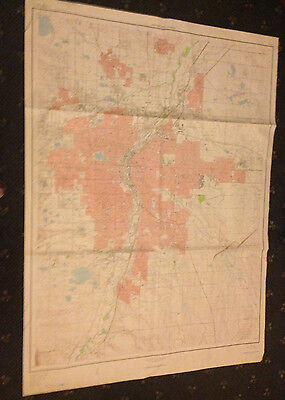 Large Denver & Vicinity Geological Survey Map