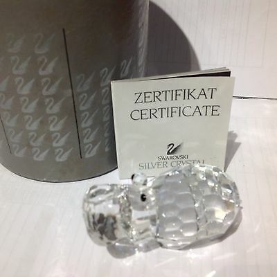 SWAROVSKI SILVER CRYSTAL Large Owl 065 000 - Excellent Condition