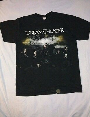 Dream Theater Black Clouds And Silver Linings Tour T Shirt Medium M - Prog Metal