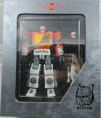 """Transformers G1 Blaster Mega Steel MS-03 recorder with alloy """"bag mail""""neu / ovp"""