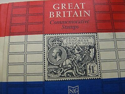Stanley Gibbons Gb Commemorative Stamp Album Plus Mint Collection.