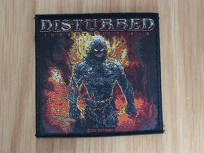 Disturbed - Indestructible (New) Sew On W-Patch Official Band Merchandise