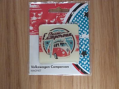 VW Classis Camper Van Fridge Magnet Officially Licensed by Volkswagen NEW
