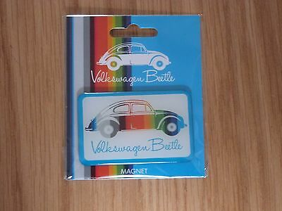 VW Striped Beetle Fridge Magnet Officially Licensed by Volkswagen NEW