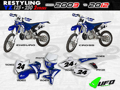 Ufo Frt#plate Yz02-04 Restyled Wh