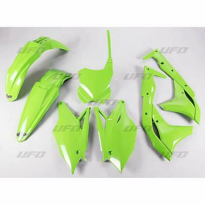 Ufo Kit Plastica Kxf250 17- Green