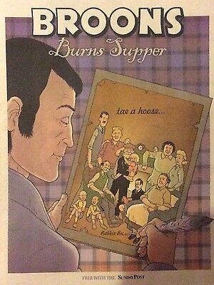 The Broons - Burns Supper Magazine - 2017