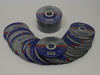 "Metal Cutting Discs Angle Grinder Flat Steel Work Grinding 115Mm 4.5"" Blade Thin"