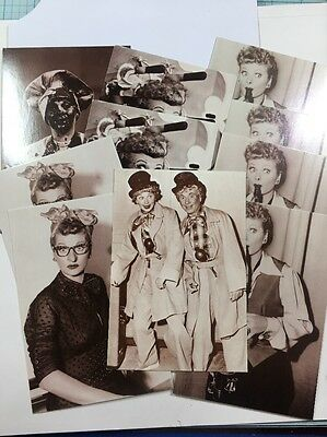 I  Love Lucy Show Postcards/5 Designs/lot Of 10 Cards/NEW