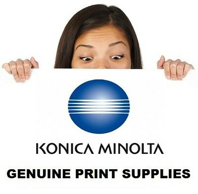 Genuine Konica Minolta TN512K Black Toner Cartridge For Bizhub C554 C454