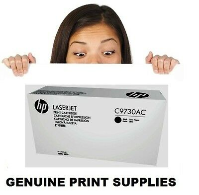Genuine HP 645A Black Toner Cartridge C9730AC (C9730A)For 5500 & 5550 Series