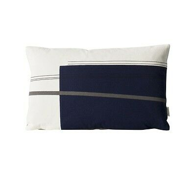 Ferm living Colour Block Cushion Danish Scandi Rrp £32.00 New