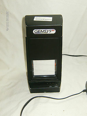 Gemsys Infrared Video Counterfeit Bill Detector - Model Ird-1501As - Working