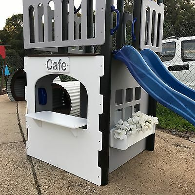 New Castle Themed Cubby House Kids Fort - Freight Aussie Wide Available
