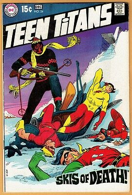 TEEN TITANS #24 DC Comics 1968 FN/VF  Robin Kid Flash Wonder Girl Speedy