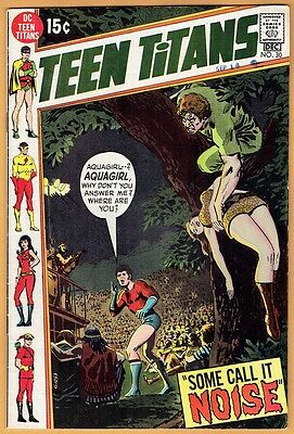 TEEN TITANS #30 DC Comics 1970 VF-  Robin Kid Flash Wonder Girl Speedy