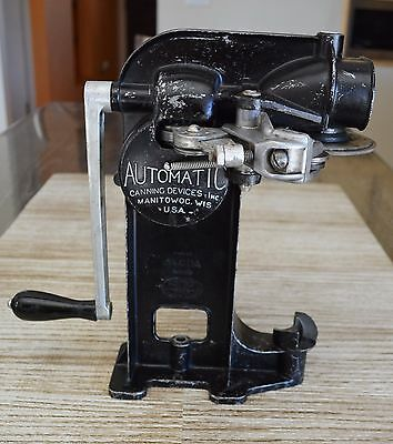 Vintage Automatic Master Can Sealer Beer All American Sealler