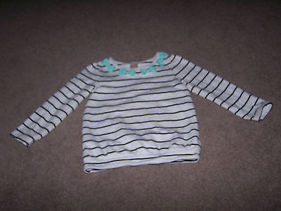Gymboree Girls 2T/3T Posh and Playful Long Sleeve Top VGUC