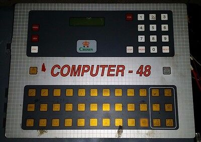 Computer-48 Dry Cleaning Controller Crown/Realstar Controller